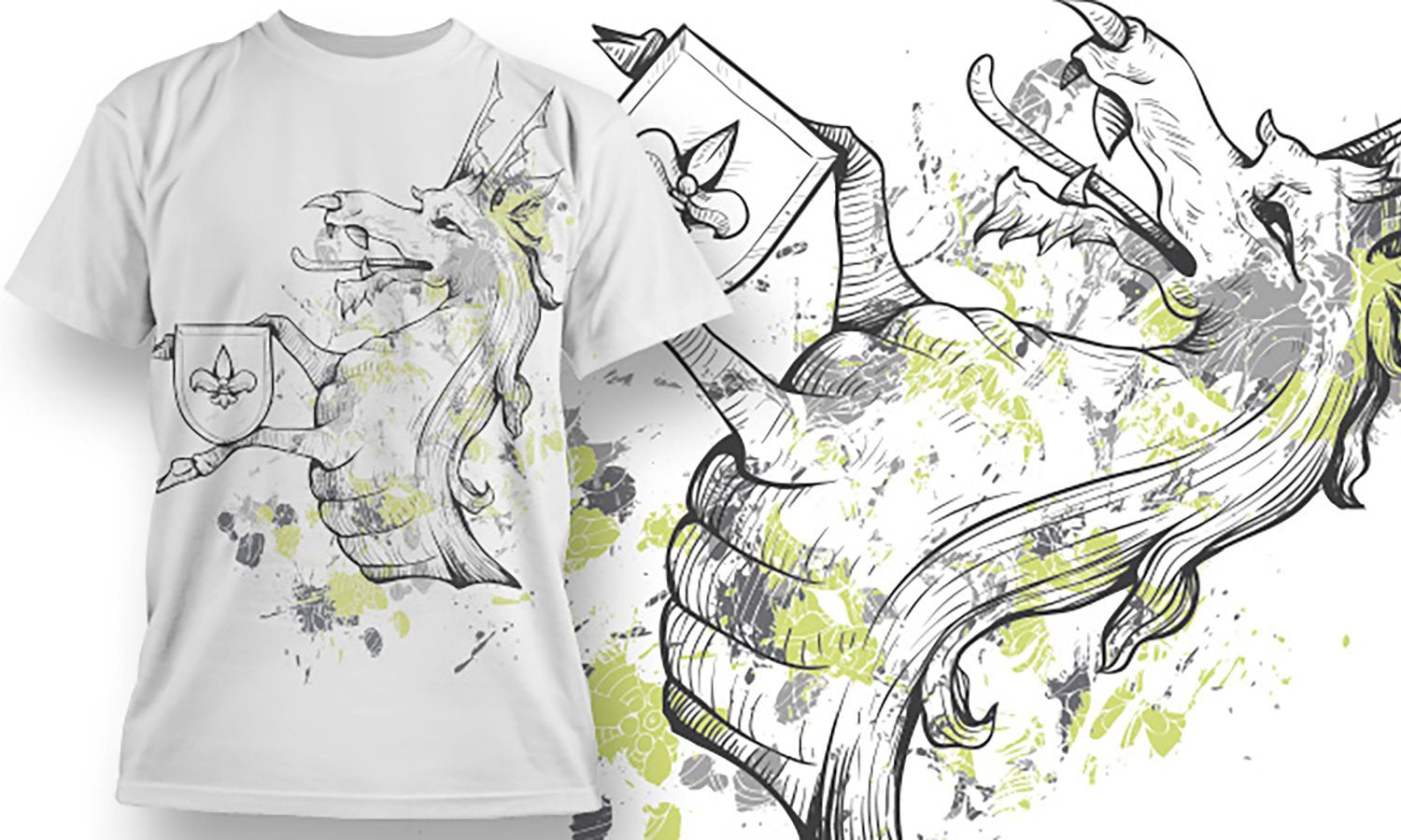 Dragon - Printed T-Shirt for Men, Women and Kids - TS088