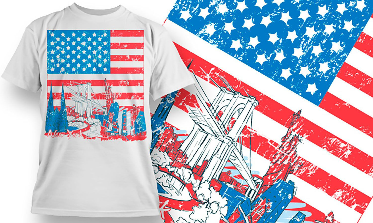 The America - Printed T-Shirt for Men, Women and Kids - TS115