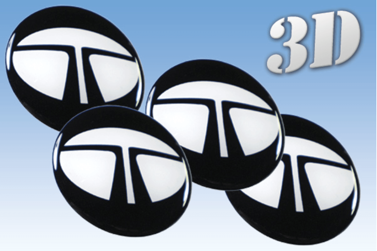 Tata -3D wheel stickers