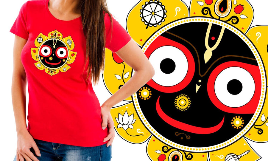 Jagannath - Printed T-Shirt for Men, Women and Kids - TS002