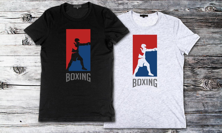 Boxing - Printed T-Shirt for Men, Women and Kids - TS013