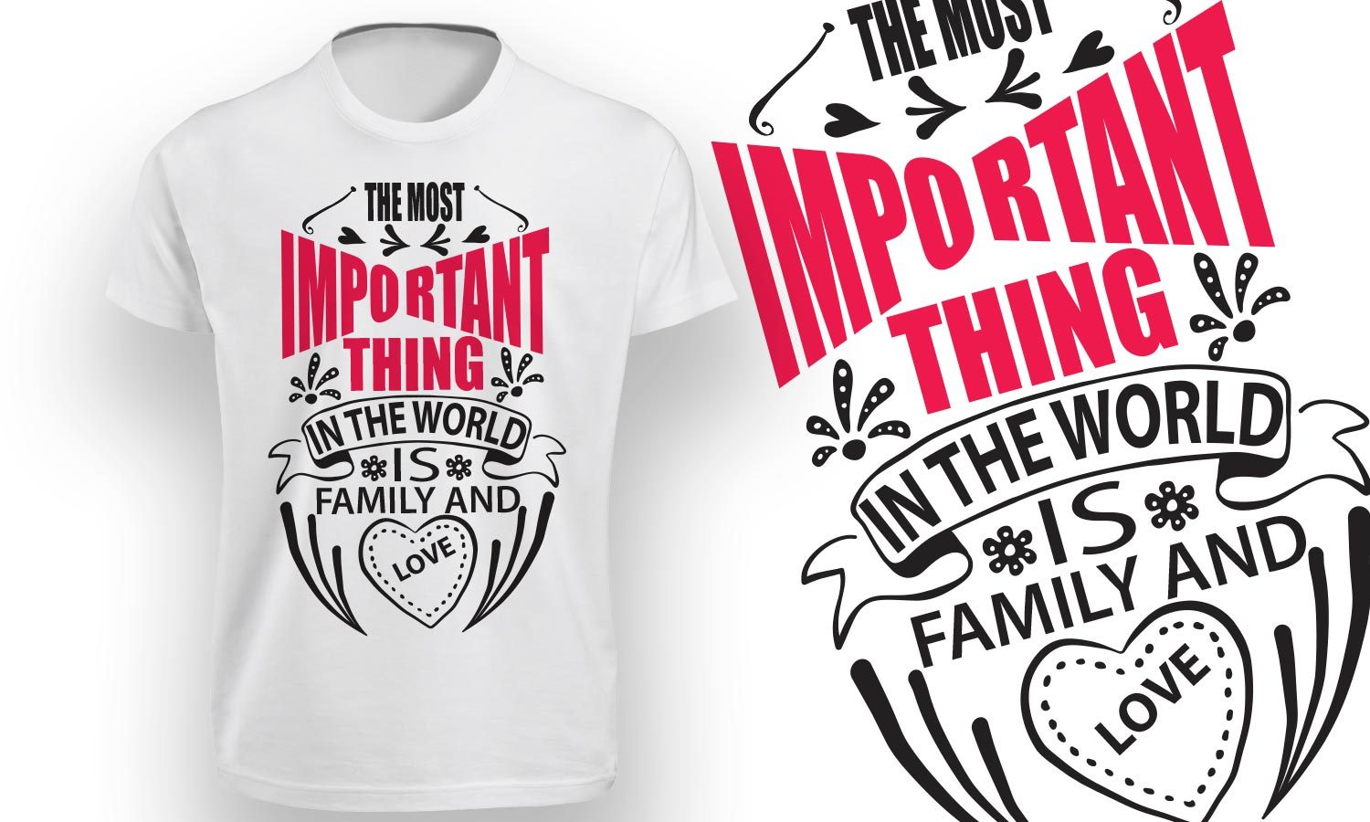 Family - Printed T-Shirt for Men, Women and Kids - TS130
