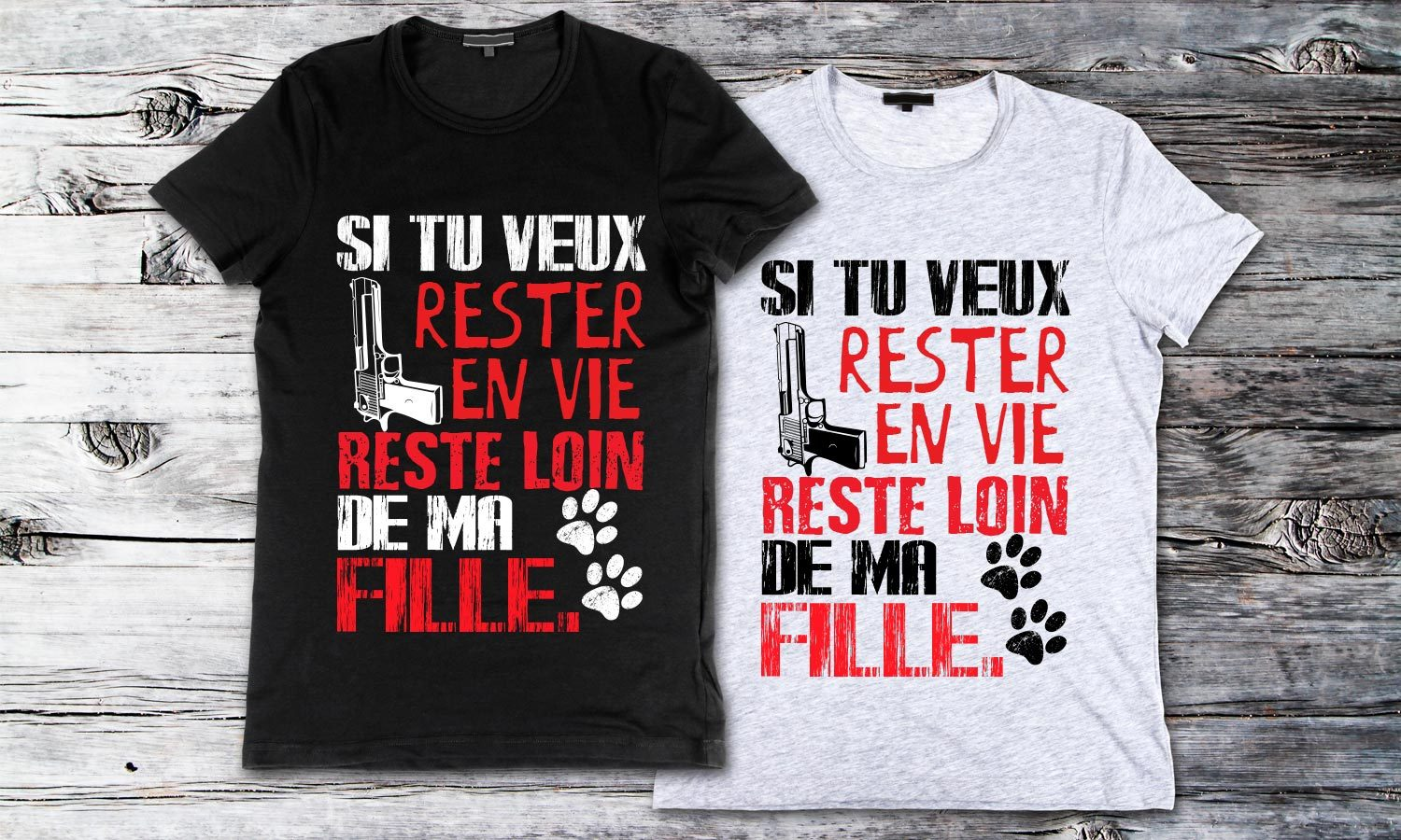 Rester - Printed T-Shirt for Men, Women and Kids - TS153