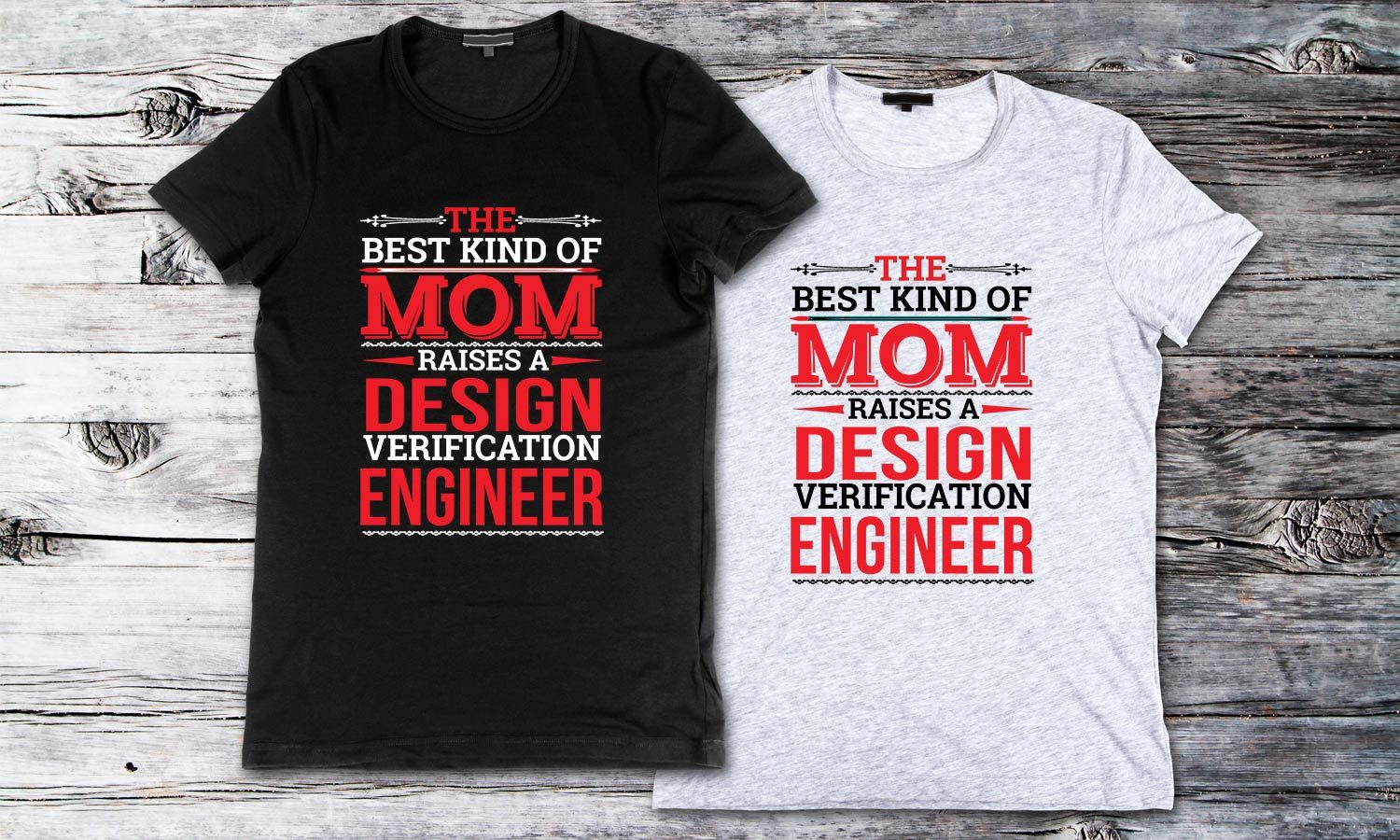 Best Kind Mom - Printed T-Shirt for Men, Women and Kids - TS167