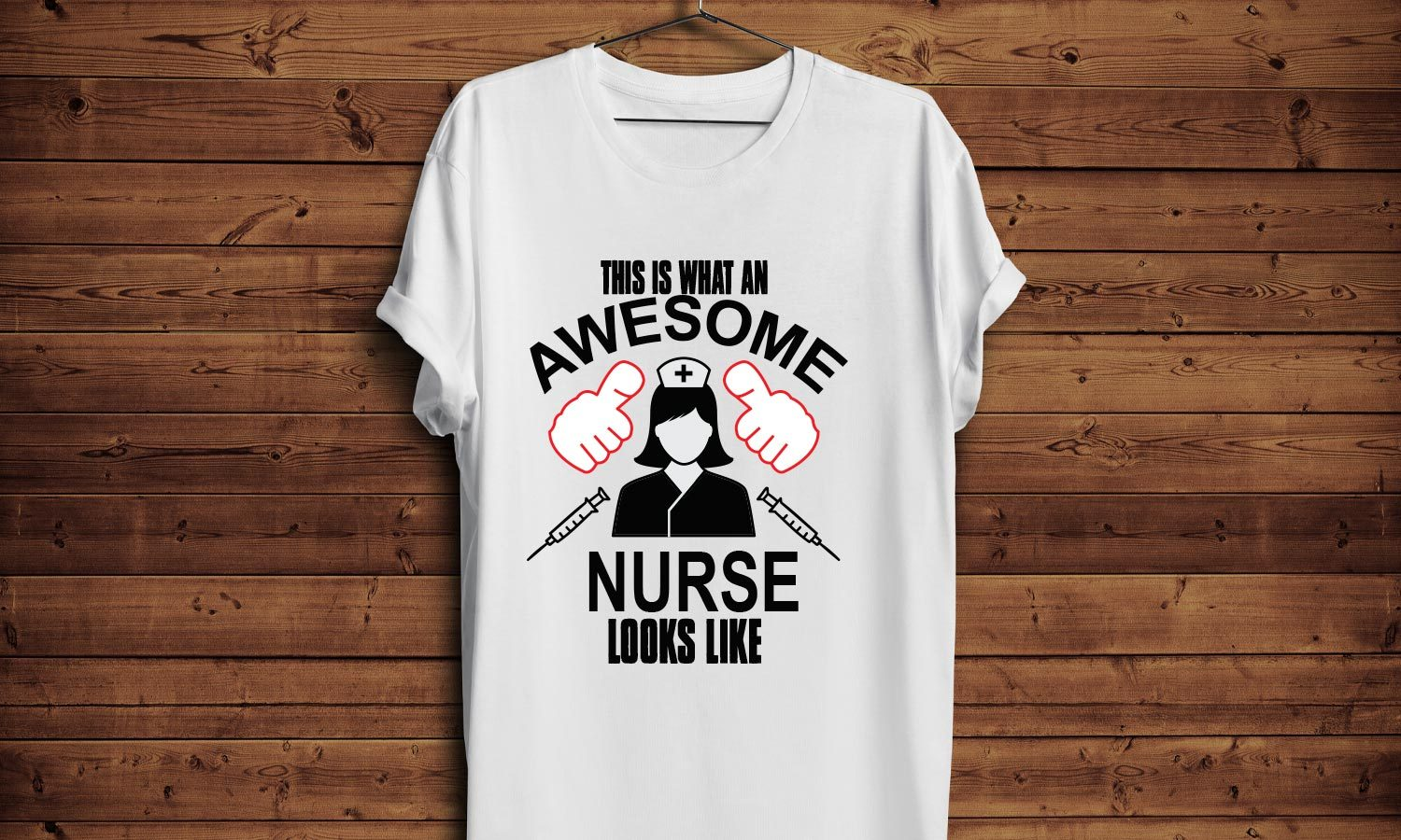 Awesome Nurse - Printed T-Shirt for Men, Women and Kids - TS212