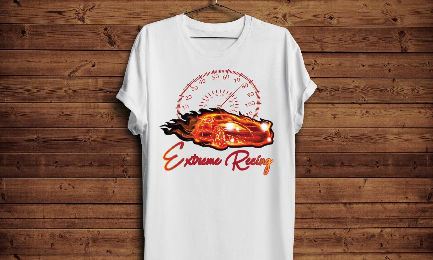 Extreme Racing - Printed T-Shirt for Men, Women and Kids - TS248