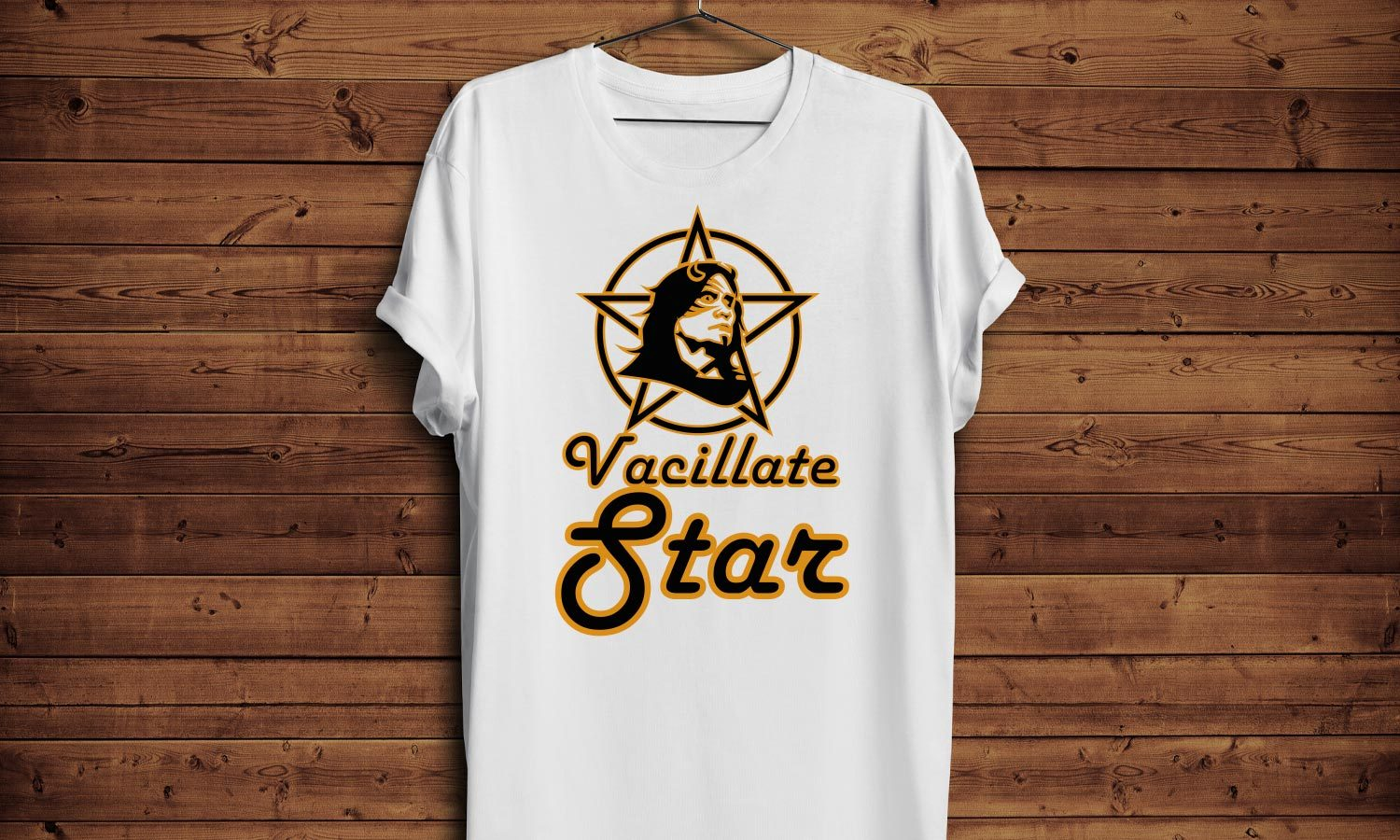 Vacillate Star - Printed T-Shirt for Men, Women and Kids - TS257