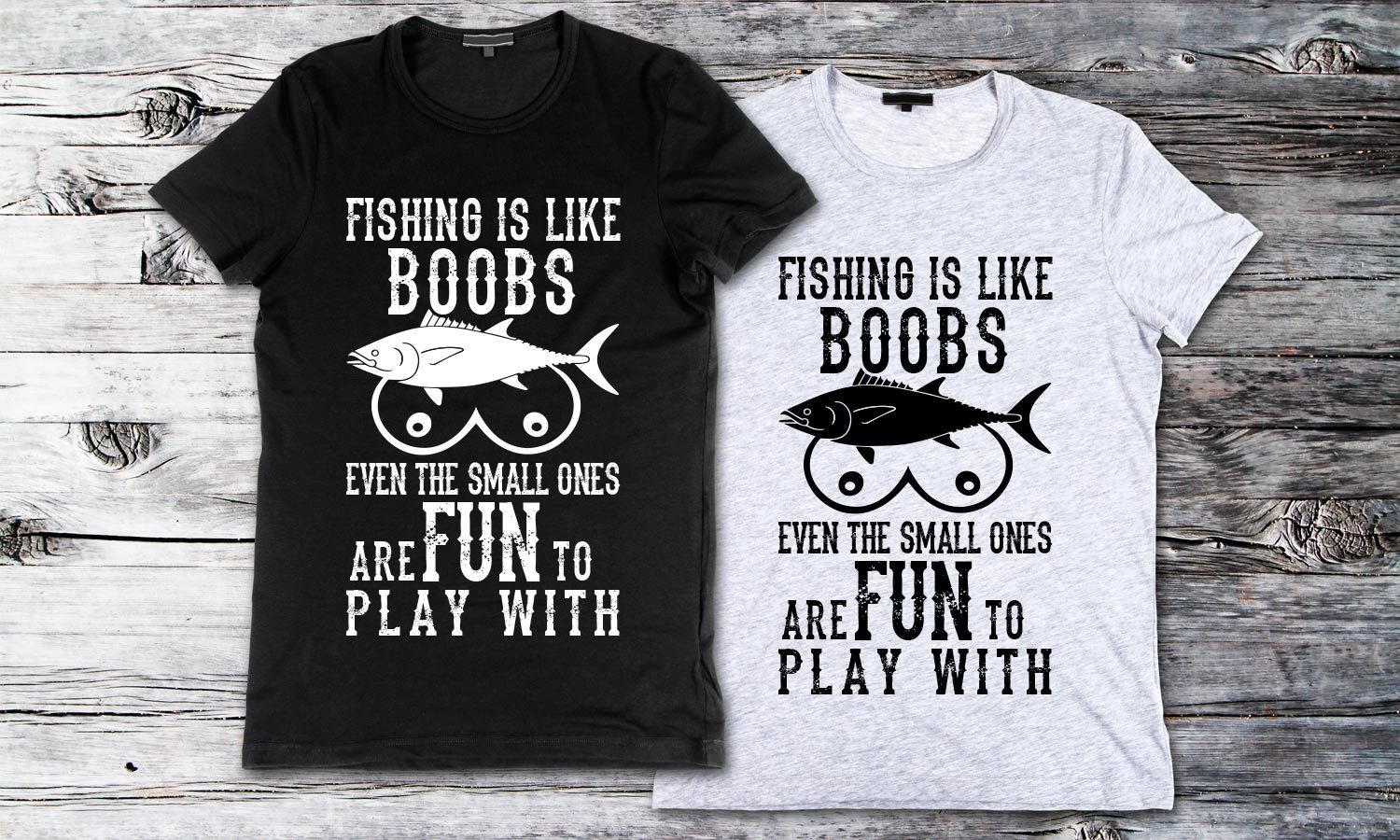 Fishing is Like - Printed T-Shirt for Men, Women and Kids - TS191