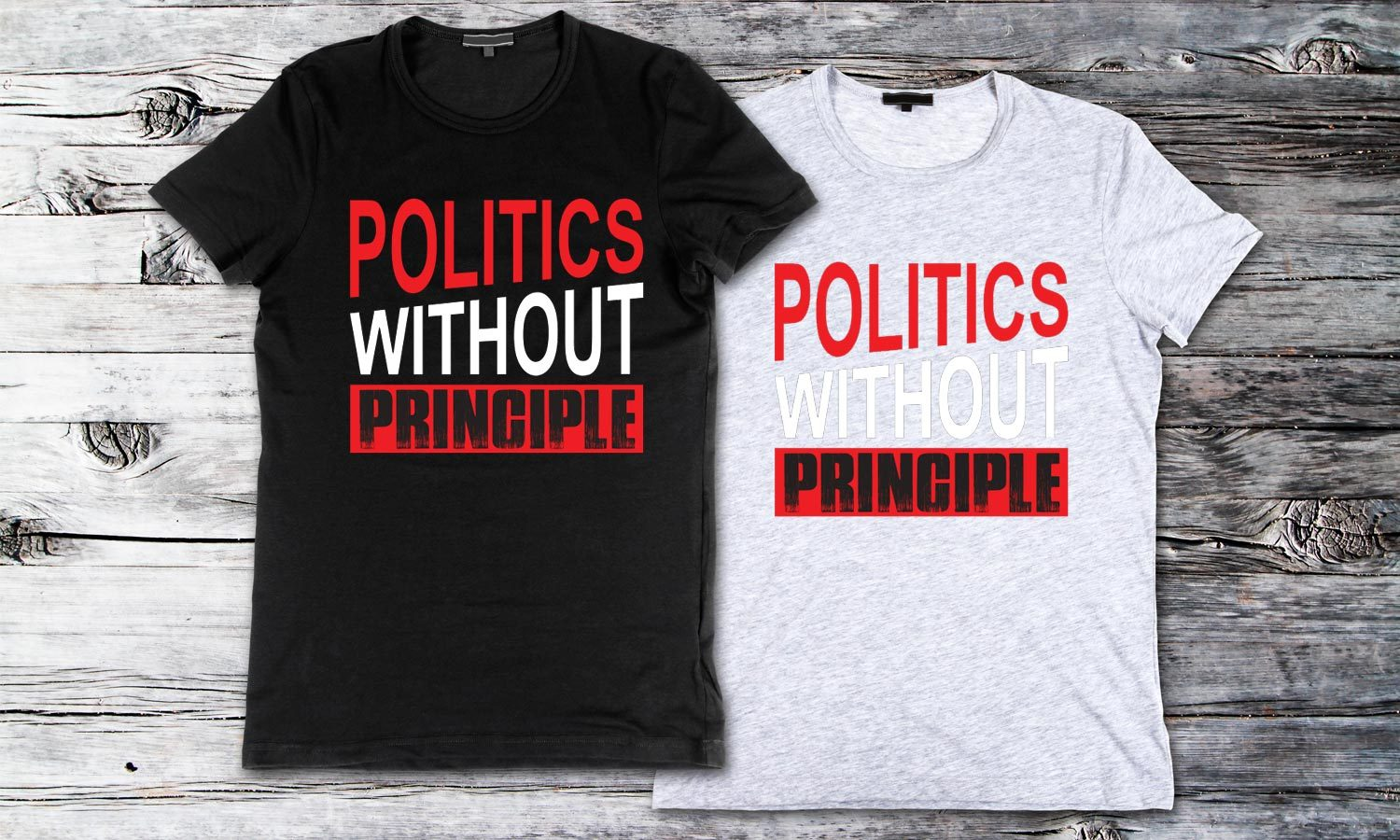 Principle - Printed T-Shirt for Men, Women and Kids - TS200