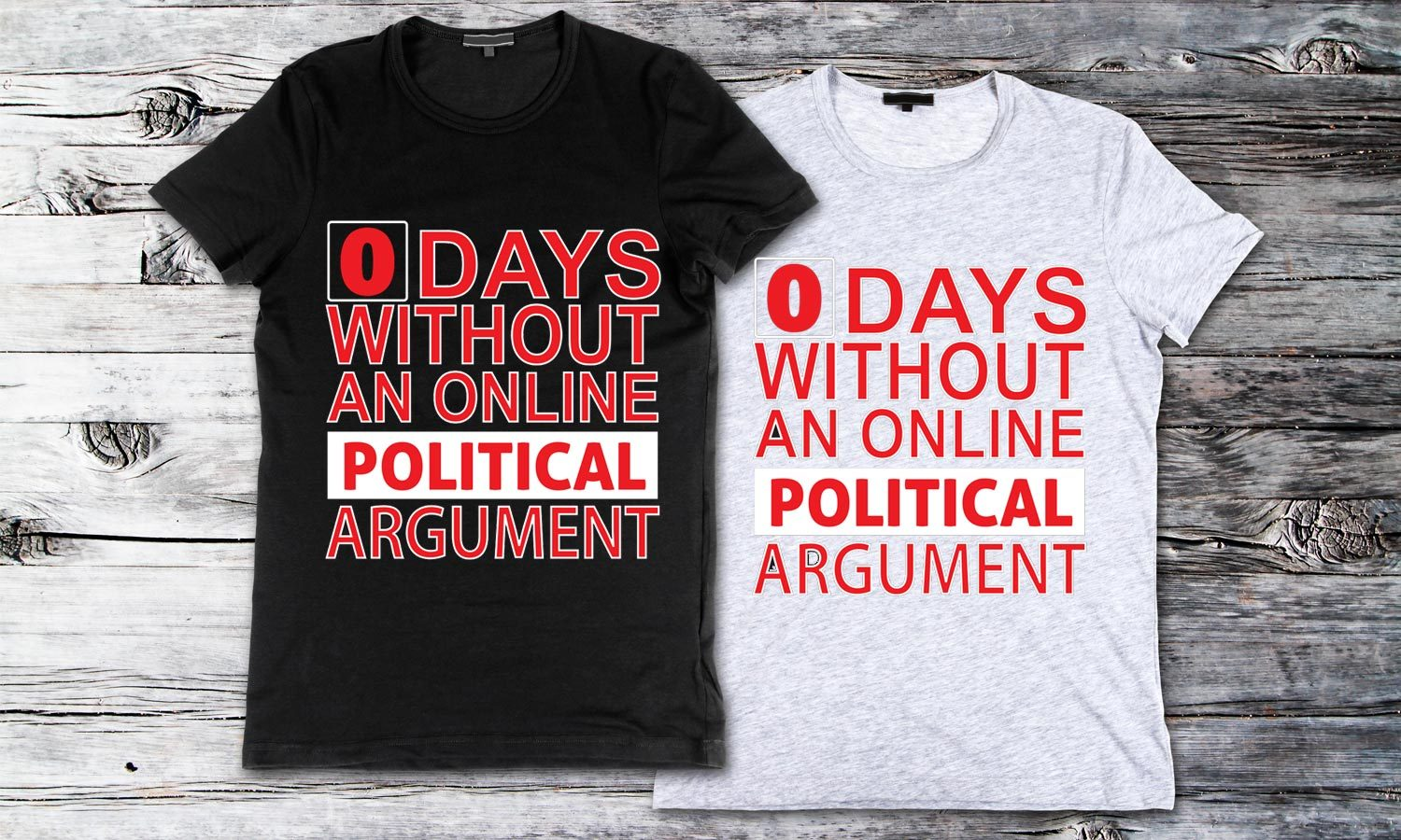 Without Political - Printed T-Shirt for Men, Women and Kids - TS228