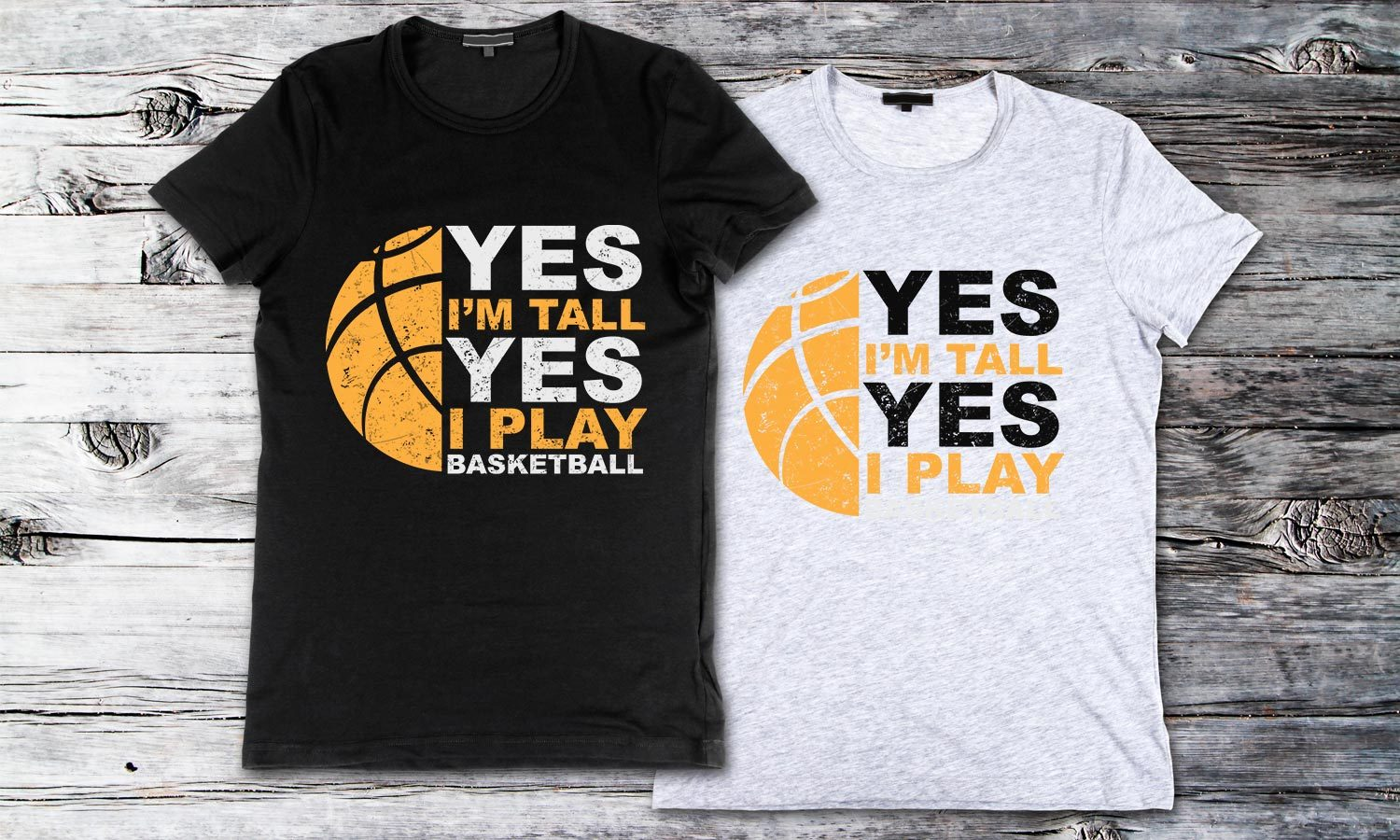Yes I'm Tall - Printed T-Shirt for Men, Women and Kids - TS240