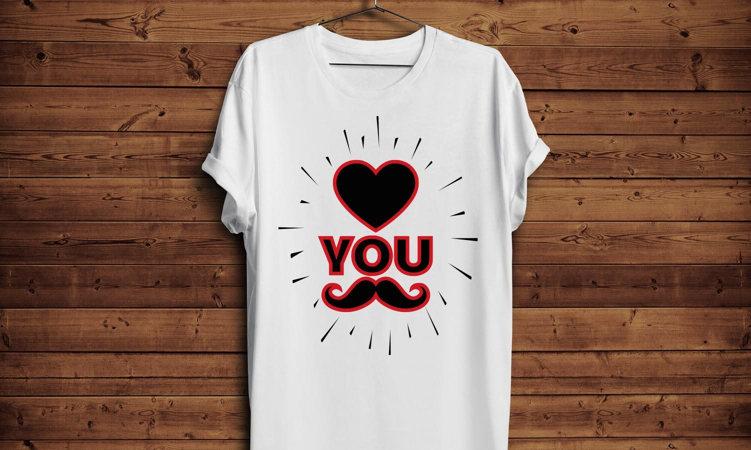 Love You - Printed T-Shirt for Men, Women and Kids - TS255
