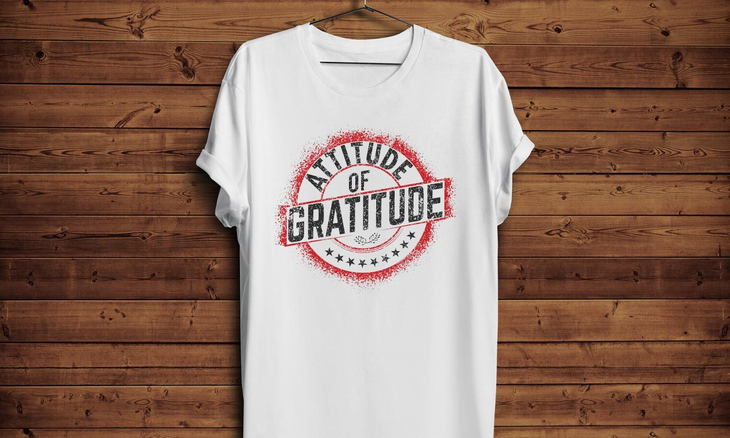 Gratitude - Printed T-Shirt for Men, Women and Kids - TS149