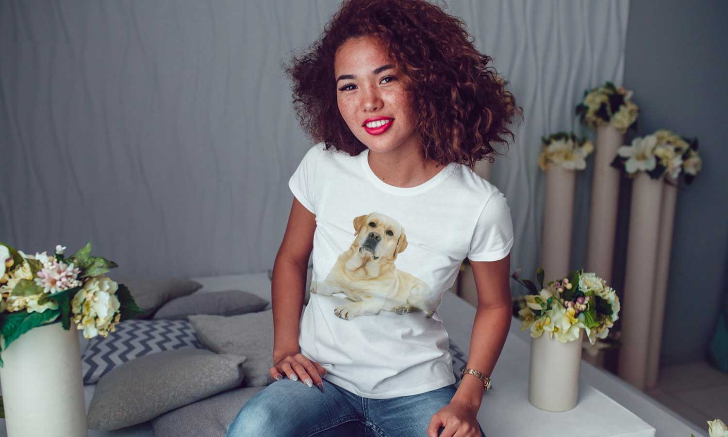 Customized Printed T-Shirt With Your Photo