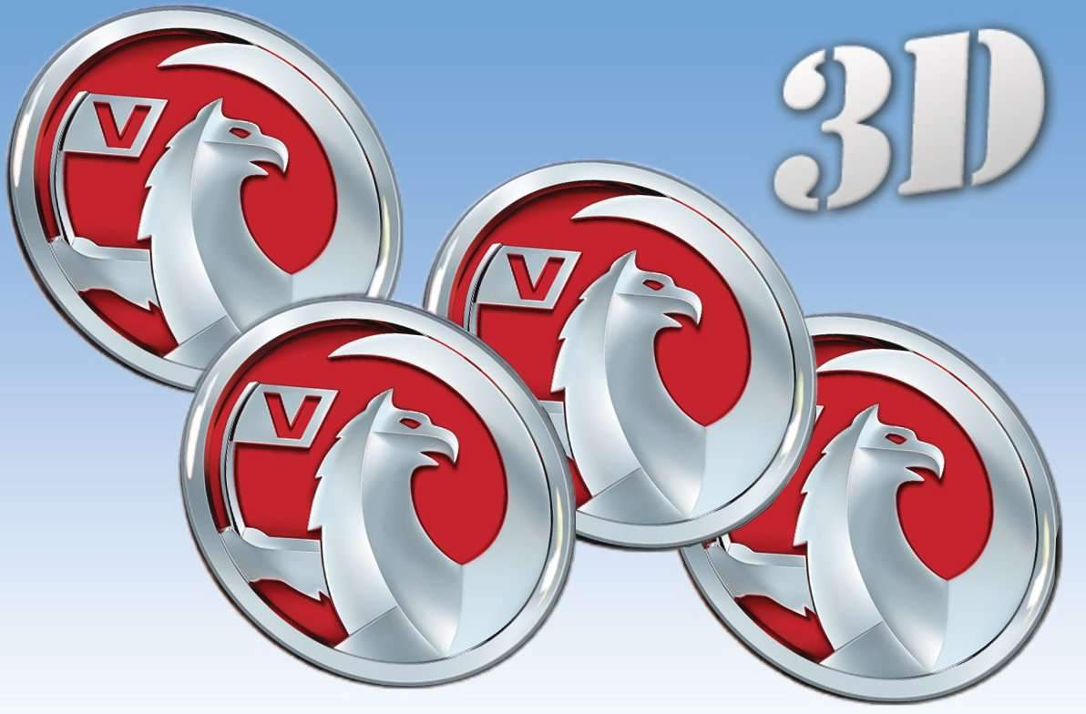 Vauxhall -3D wheel stickers