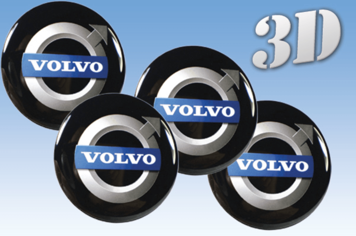 Wheel stickers decals for rim center cap wheel volvo