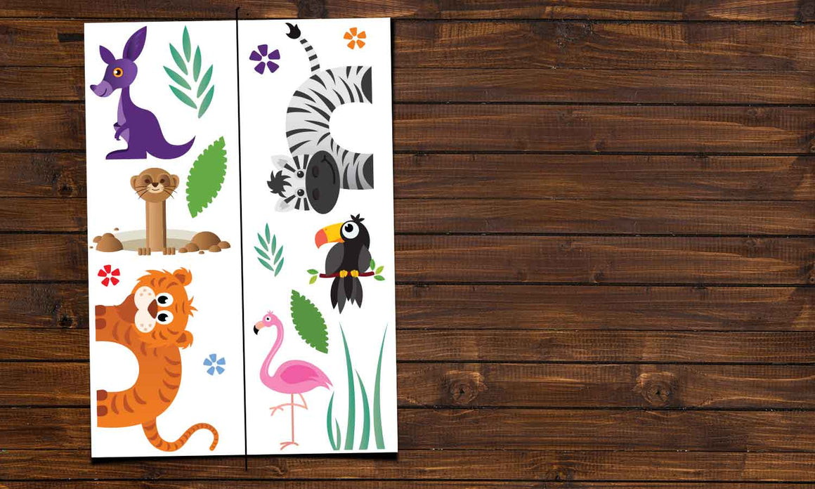 Wall stickers  Forest Animals - DWS001