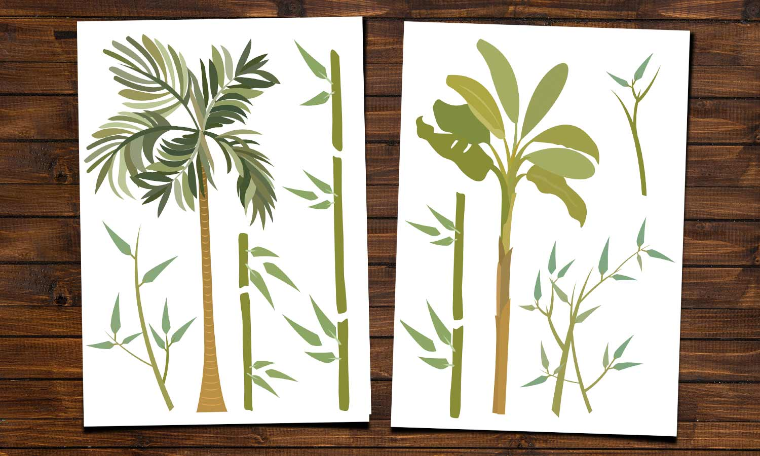 Wall stickers Bamboo - WS001