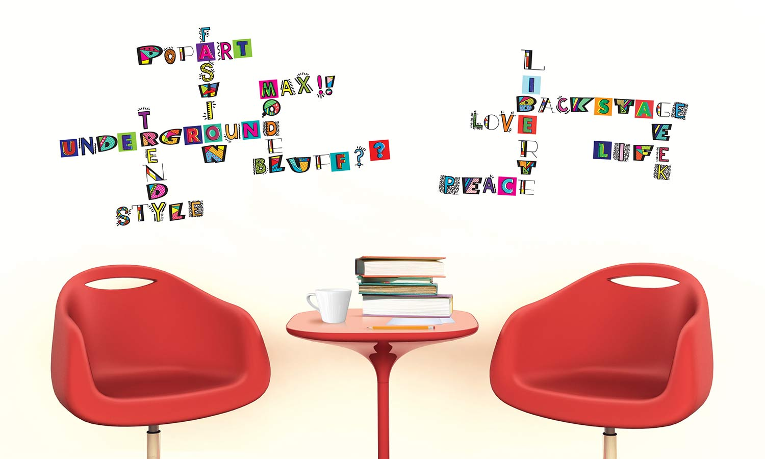 Wall stickers Letters - WS075
