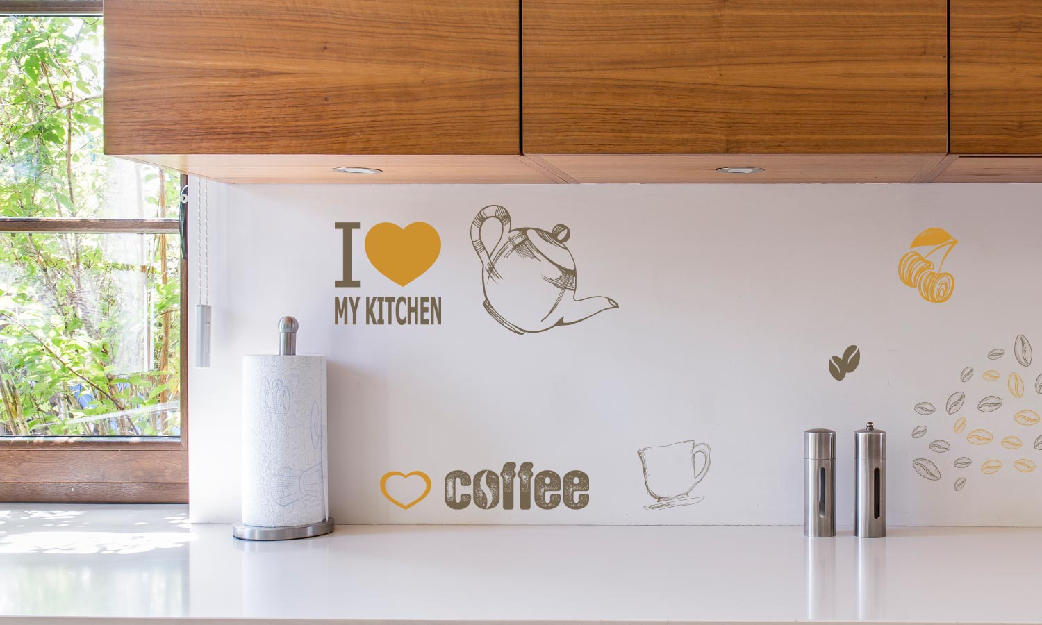 Wall stickers Caffee - M20