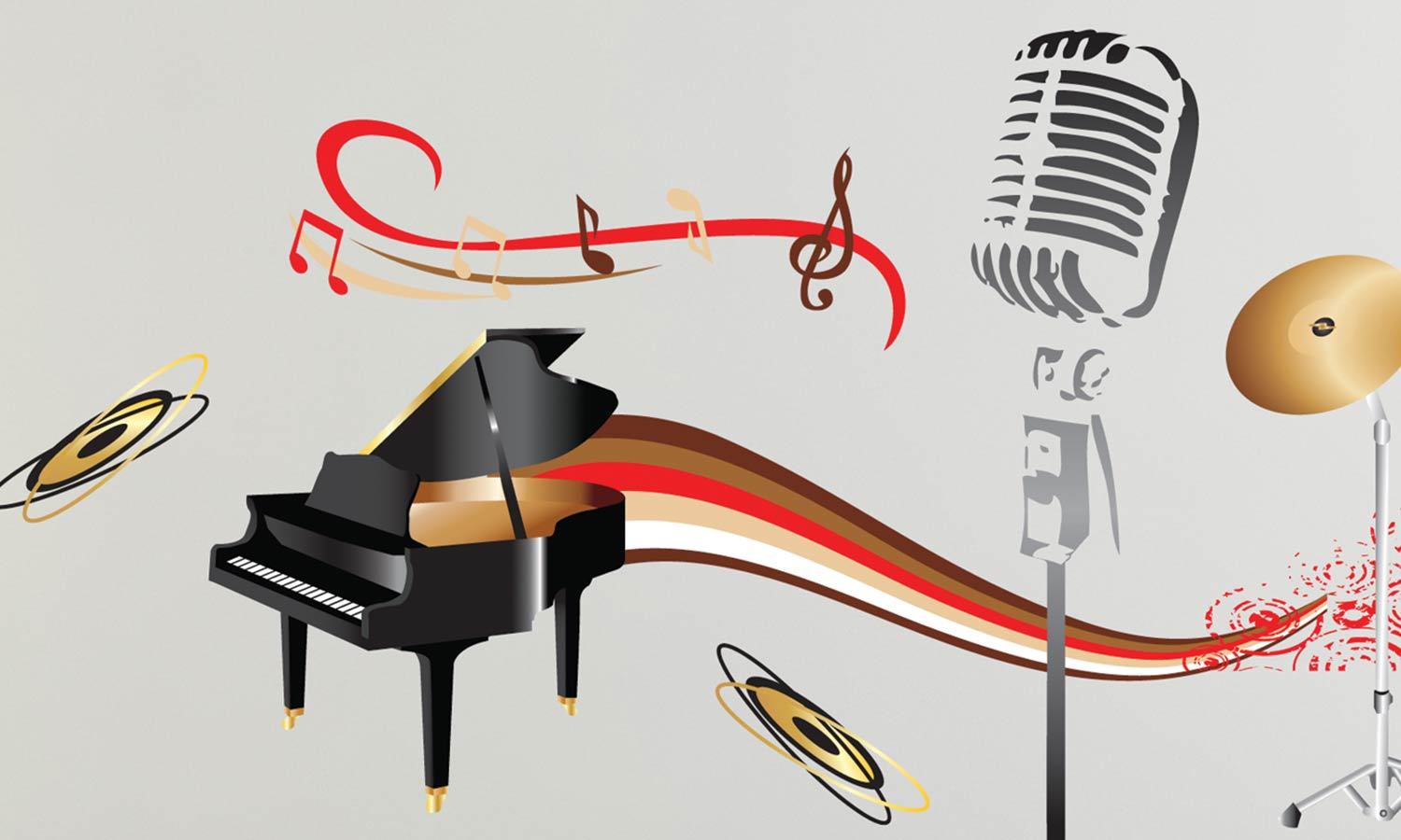 Wall stickers Music - WS031