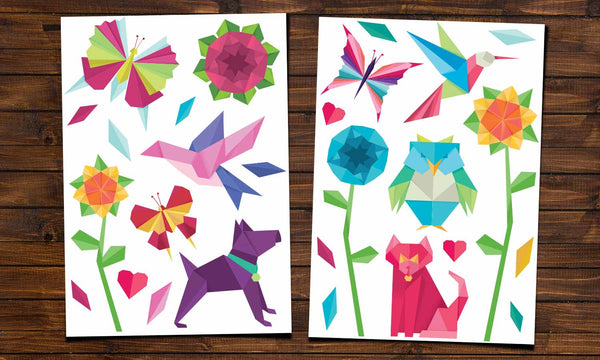 Wall Stickers Origami Ws063