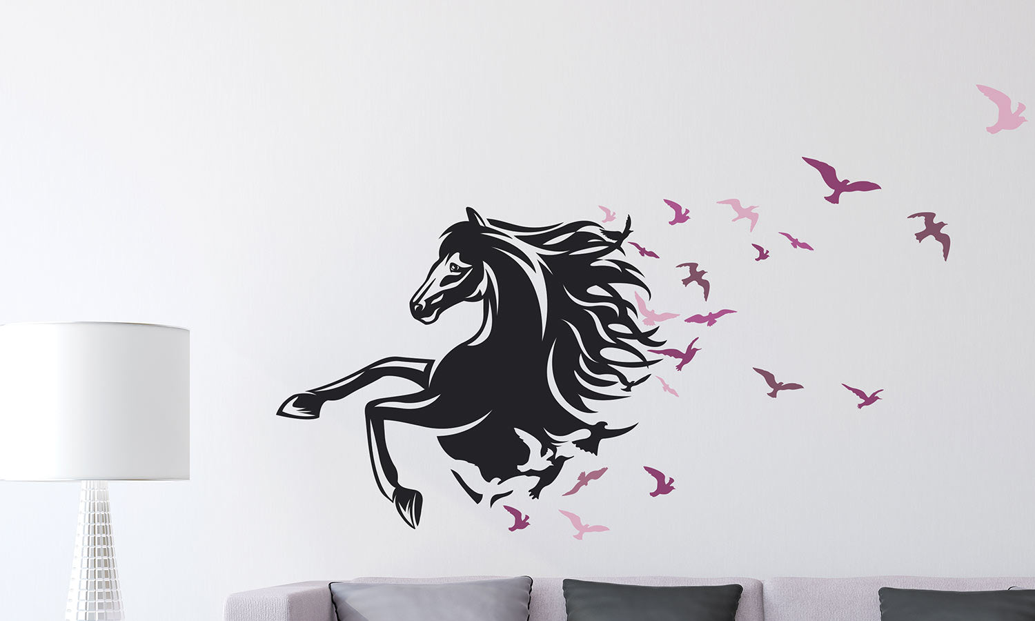 Wall stickers Trendy horse - WS091