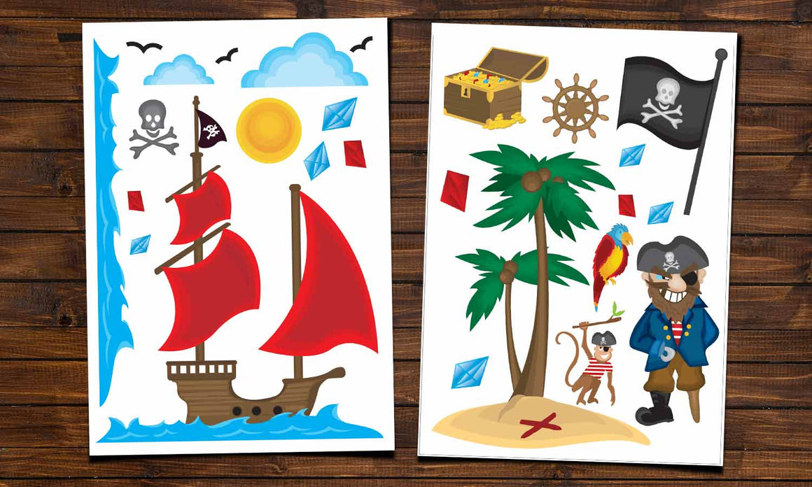 Wall stickers Pirates - WS015