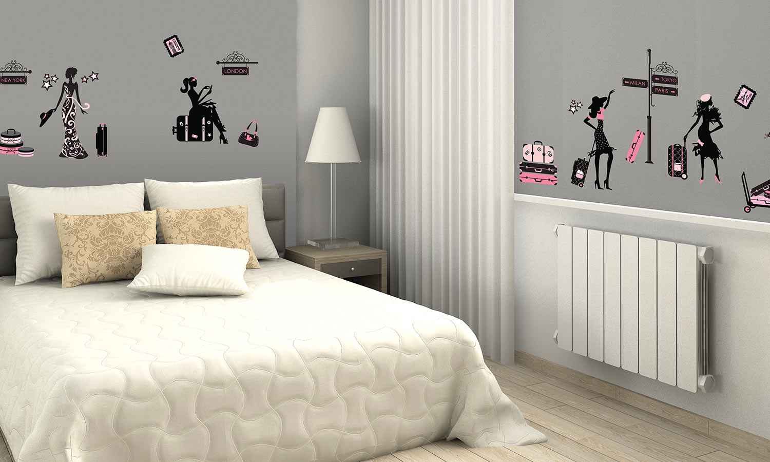 Wall stickers Haute Couture - WS069