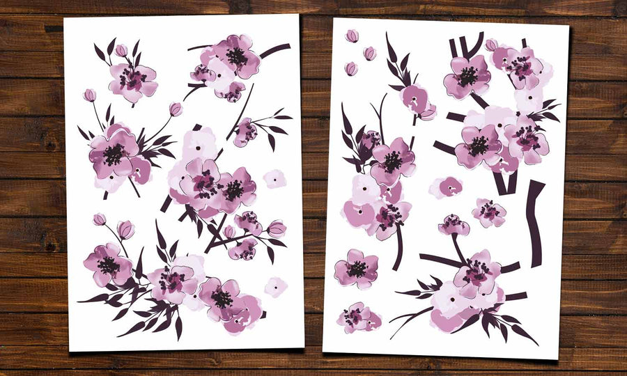Wall stickers  Flowers - WS053