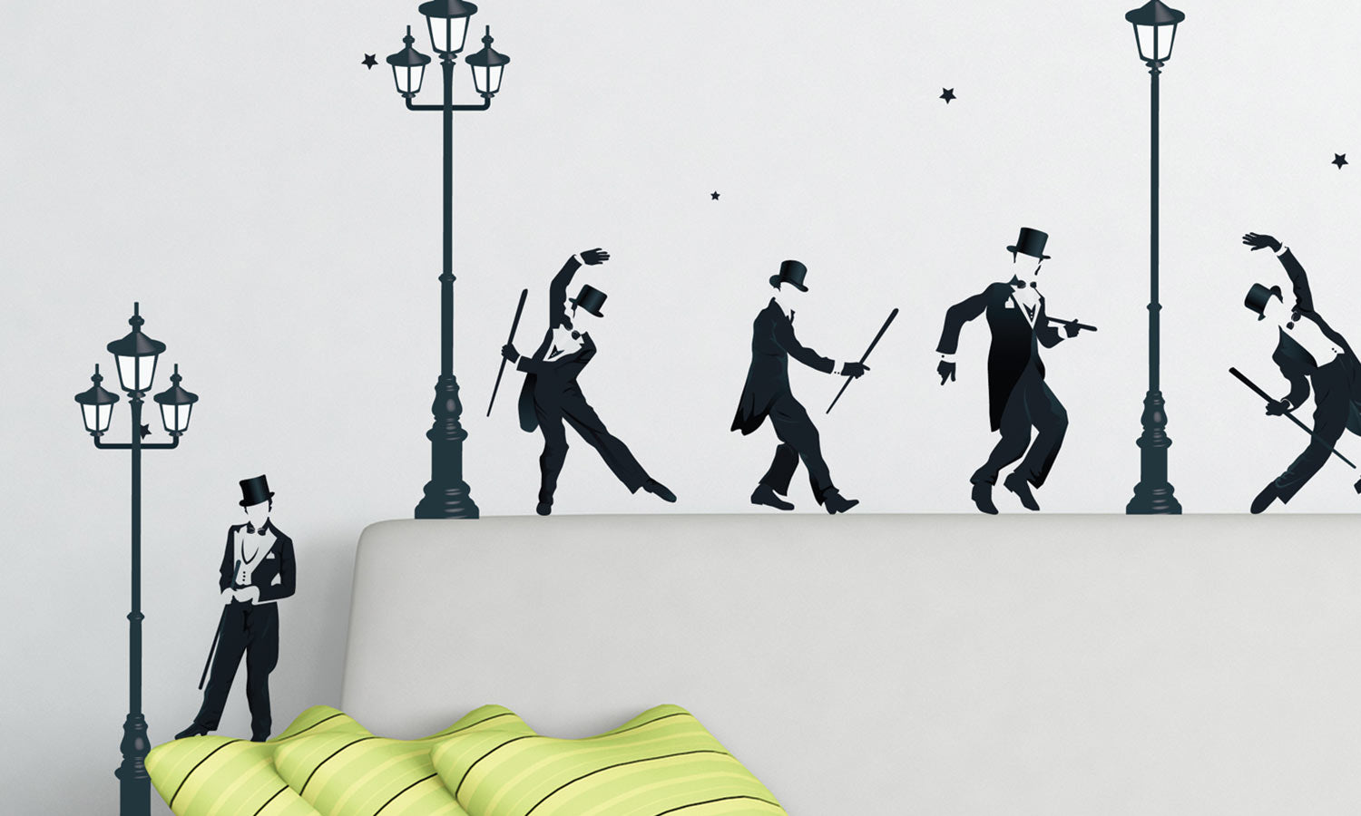 Wall stickers Dancers - WS048
