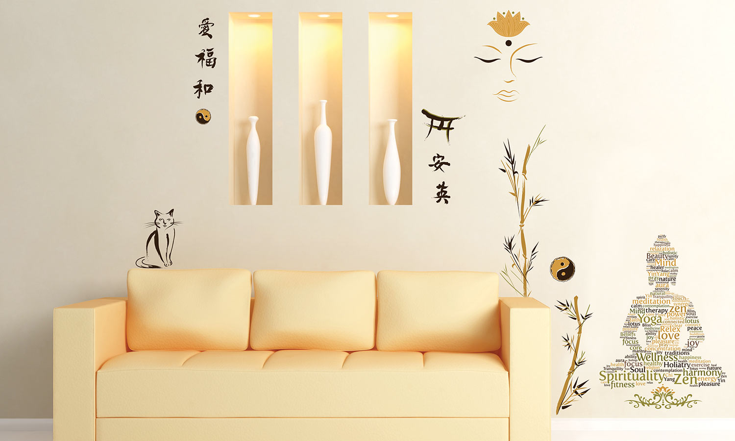 Wall stickers Zen - WS074