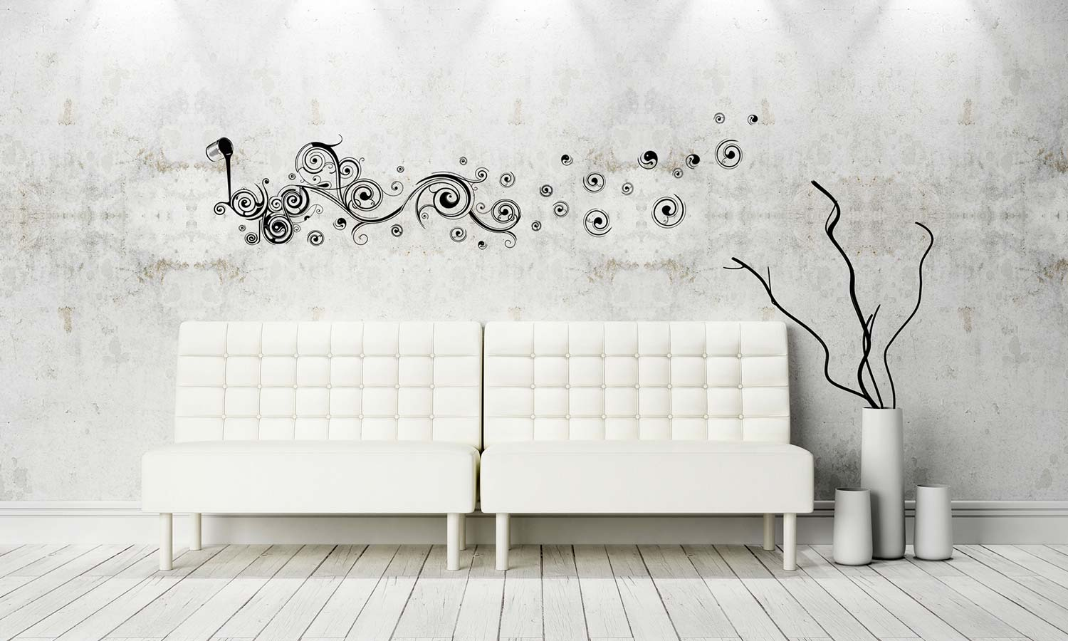 Wall stickers  Modern Circle - WS099