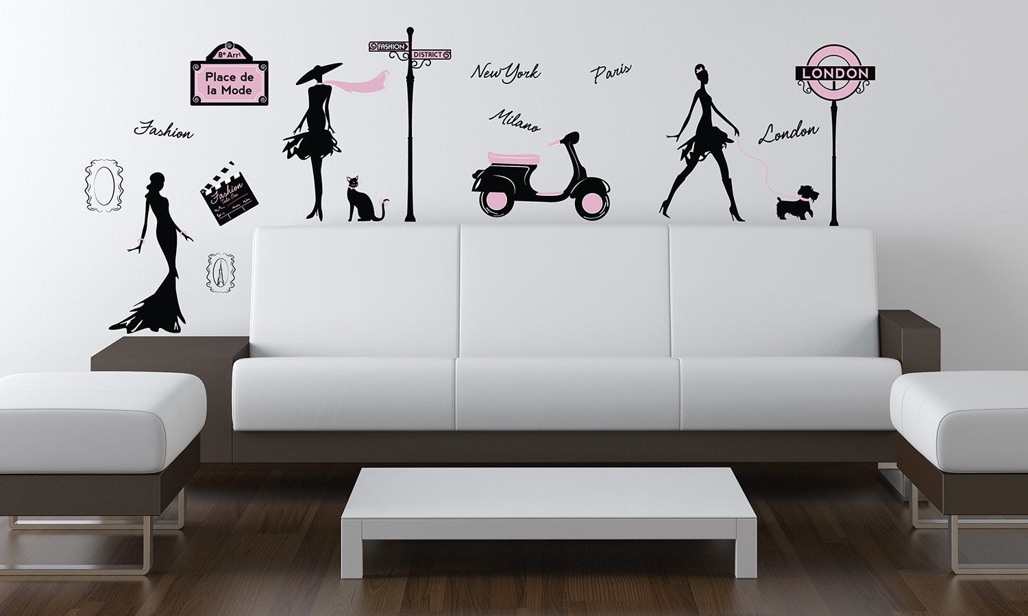 Wall stickers Street fashion - WS061