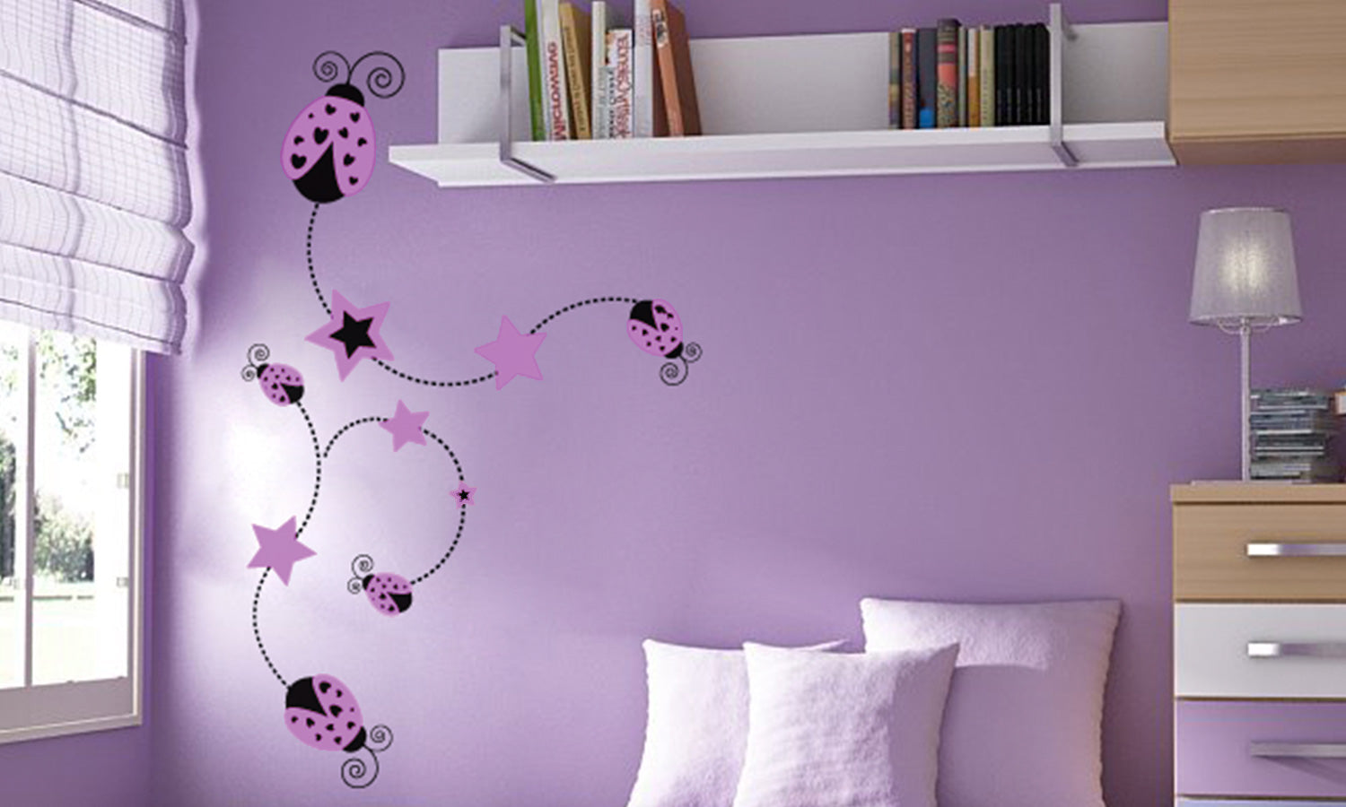 Wall stickers Lady bug- M12