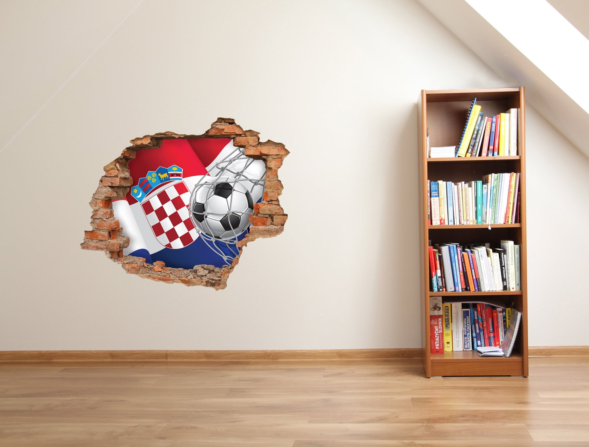 3D Art Wall stickers Hrvatska 2018 - Gollll! - Art Life Decor
