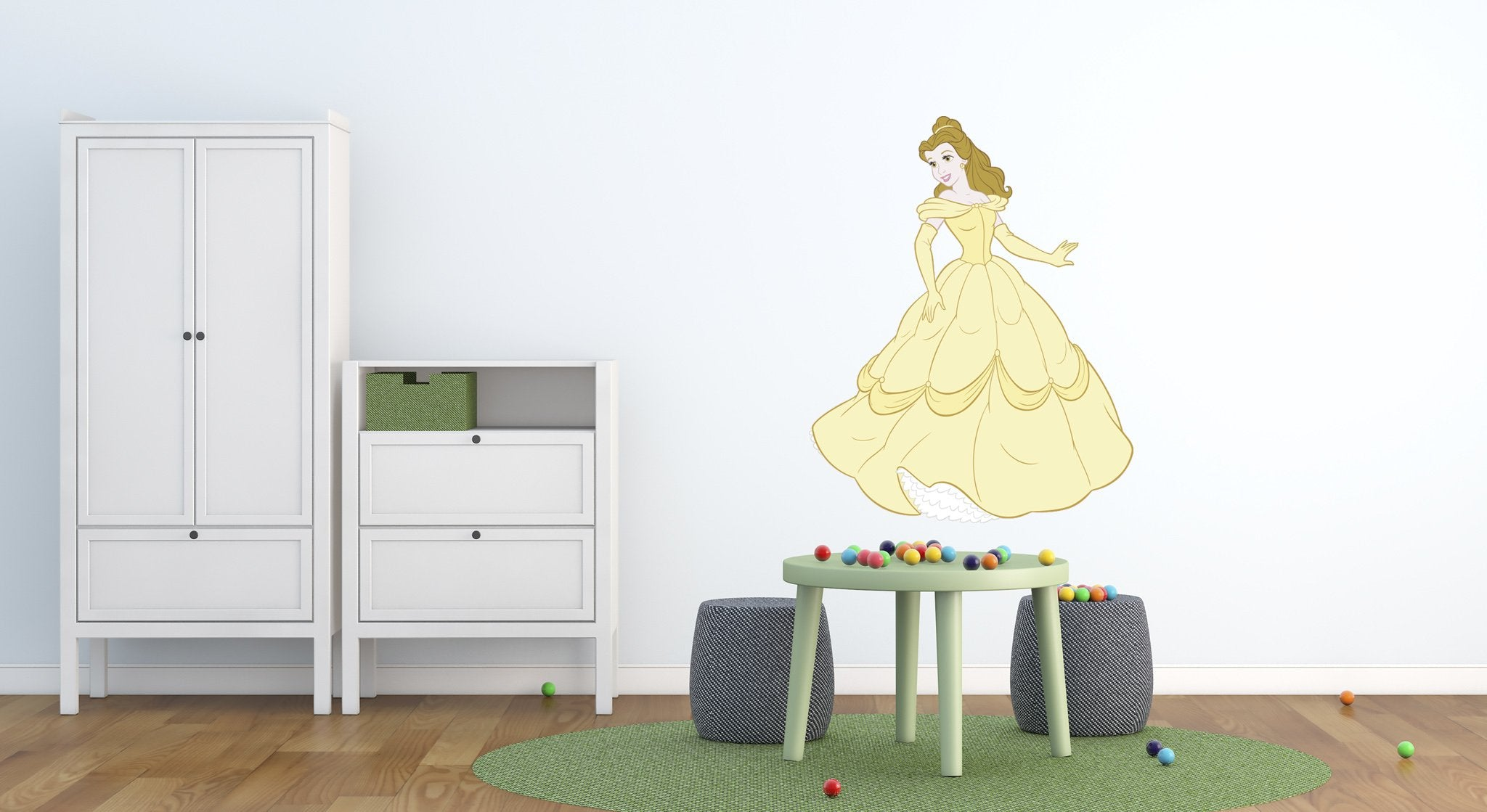 Wall stickers Kids Room Princess - KD25