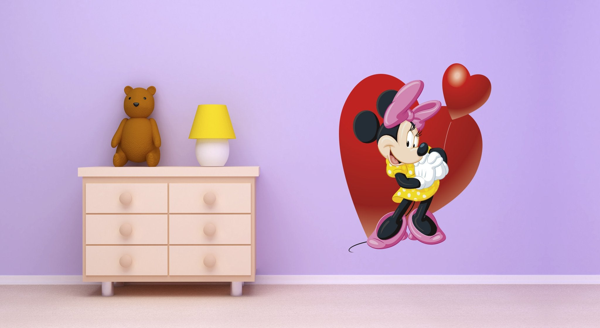 Wall stickers Kids Room Mini Mouse - KD14