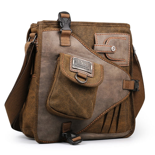 2018 Multifunction Messenger Bag