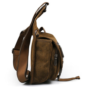 Ruil retro canvas shoulder bag