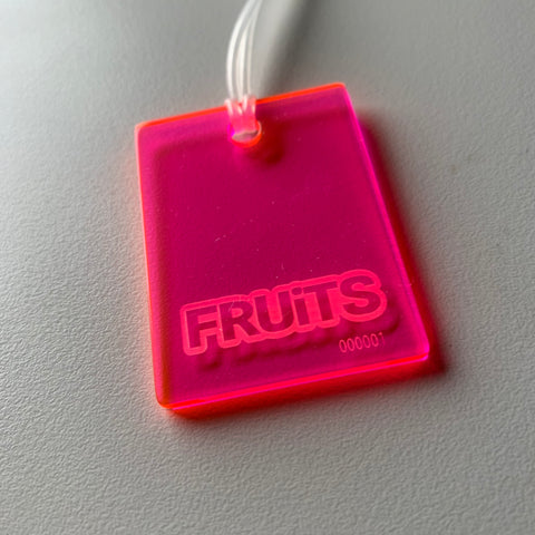 The FRUiTS Magazine Tag