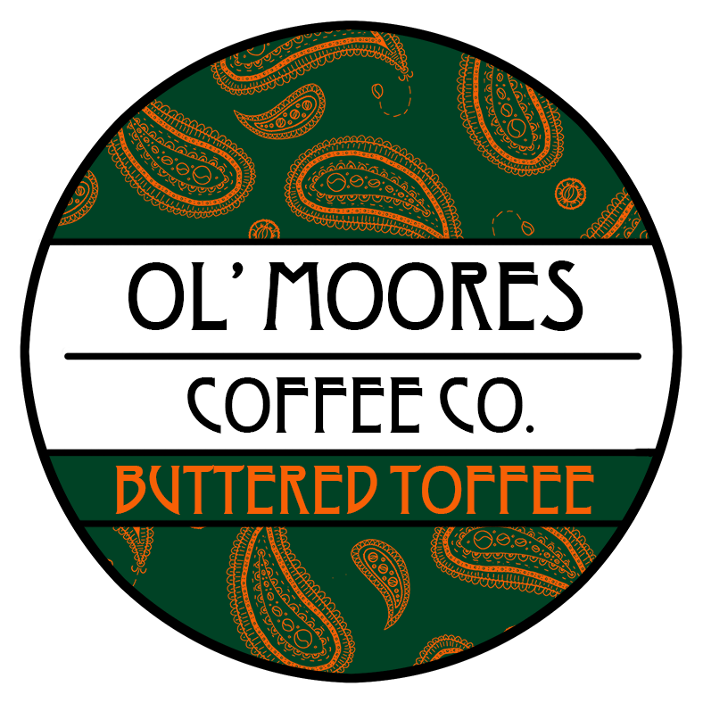 Ol' Moore's Buttered Toffee Flavoured Coffee