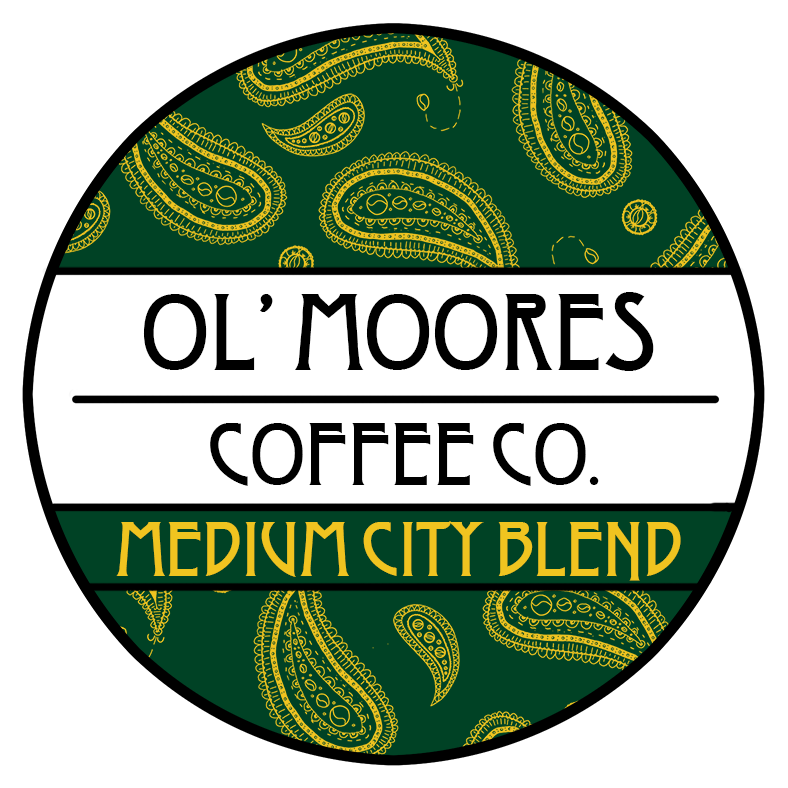 Ol' Moore's Medium City Roast Blend