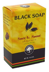 Unscented Natural Black Soap Bar 5oz