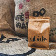 Load image into Gallery viewer, abide culture coffee roasters, abide culture coffee, abide culture, abide, coffee, theABIDEproject, AB1DE, abide drip, drip, brazil, espresso, organic, fair trade,
