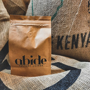 abide culture, abide, coffee, kenya, microlot, single estate, organic,