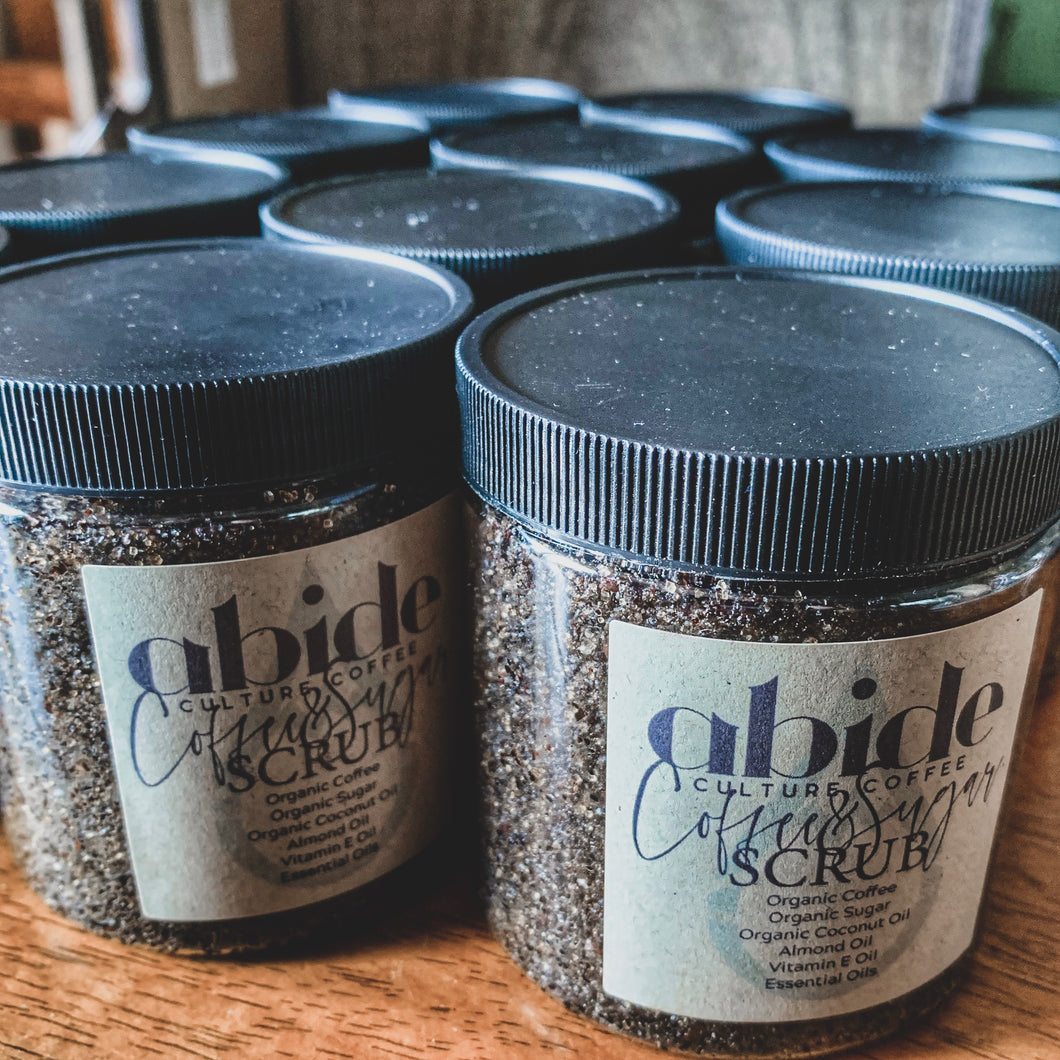 Abide Culture Coffee & Sugar Scrub