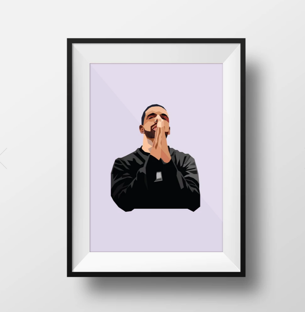 Drizzy Wall Art