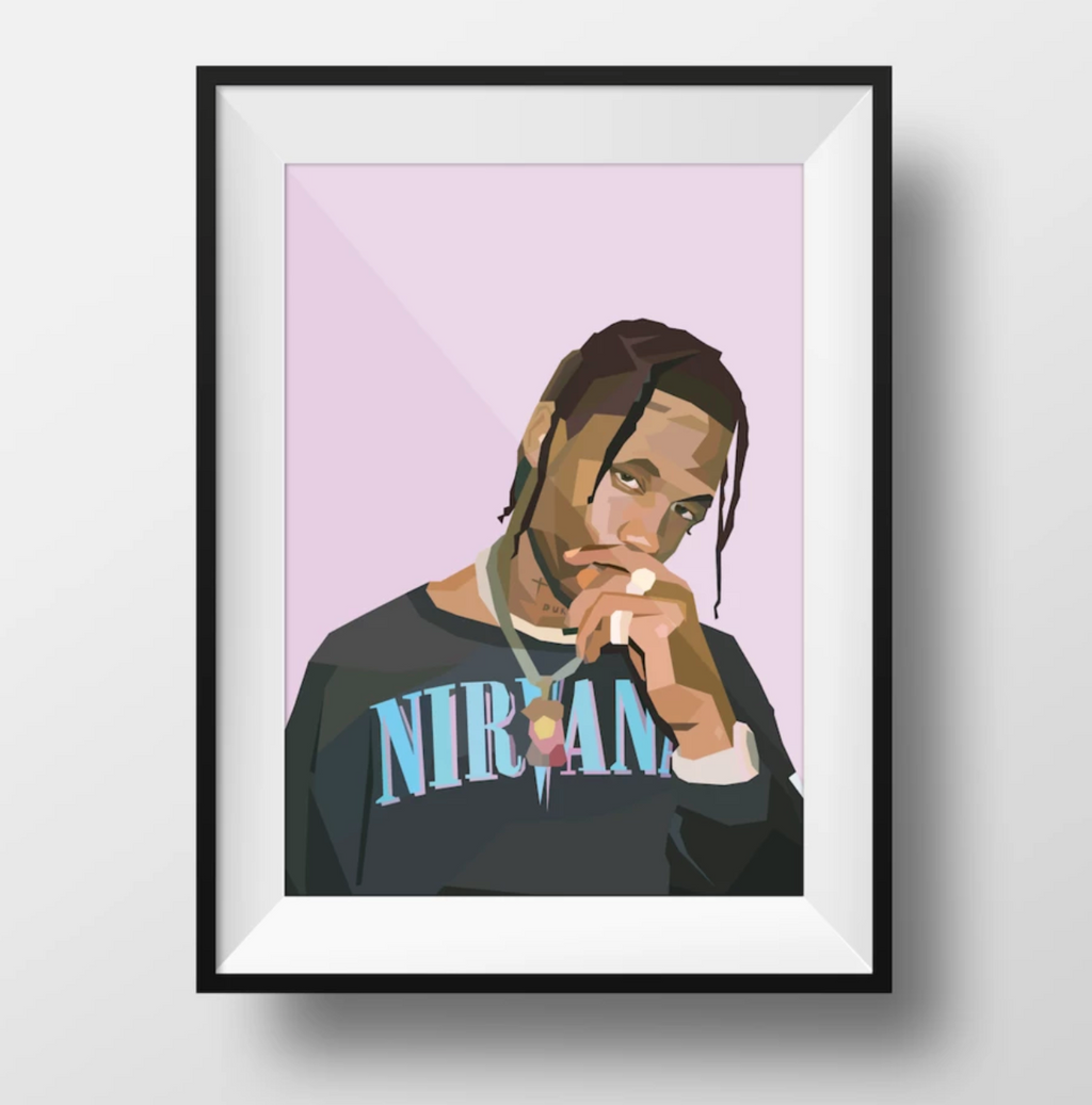 TRAVIS SCOTT Wall Art