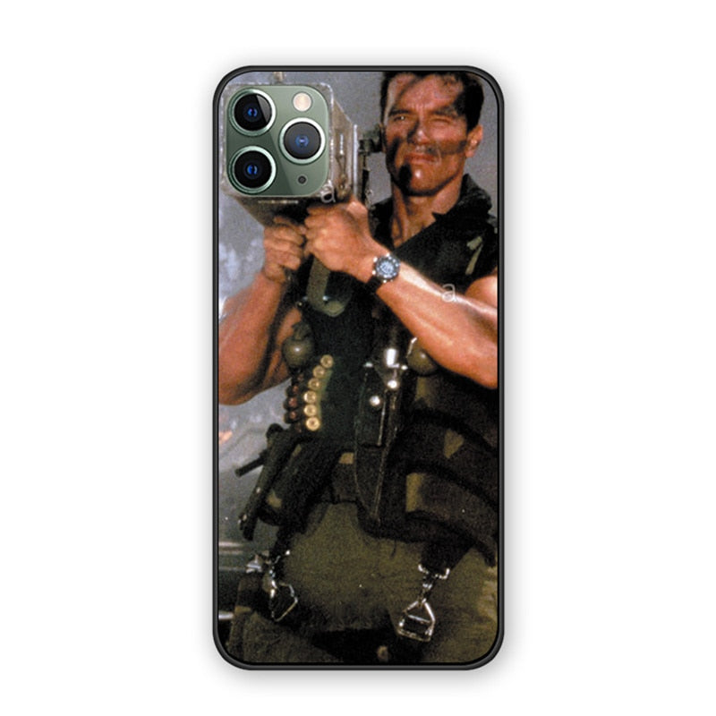 Arnold Schwarzenegger Commando 1985 case For iPhone 11 Pro Max
